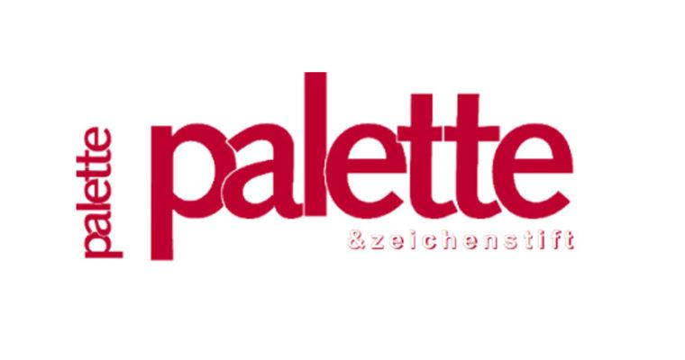 Artikel über Eventmalerei in der Zeitschrift Palette